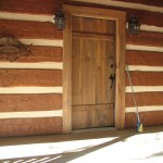 Antique Barn Wood Door