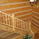Log Rails & Timber Stairs