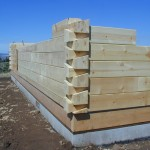 aminated Square Logs
